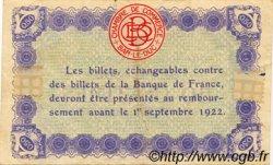 50 Centimes FRANCE régionalisme et divers BAR-LE-DUC 1917 JP.019.13 TTB à SUP