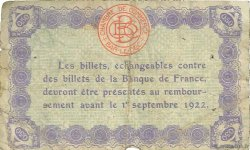 50 Centimes FRANCE régionalisme et divers Bar-Le-Duc 1917 JP.019.13 TB