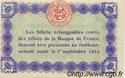 50 Centimes FRANCE régionalisme et divers Bar-Le-Duc 1917 JP.019.19 TTB à SUP