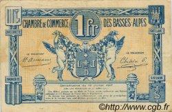 1 Franc FRANCE régionalisme et divers BASSES-ALPES 1917 JP.020.02 TB