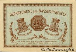50 Centimes FRANCE régionalisme et divers BAYONNE 1915 JP.021.01 TTB à SUP