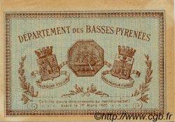 50 Centimes FRANCE régionalisme et divers BAYONNE 1915 JP.021.05 TTB à SUP
