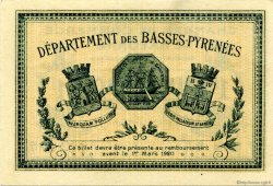 1 Franc FRANCE régionalisme et divers Bayonne 1915 JP.021.09 SPL à NEUF