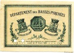 1 Franc FRANCE régionalisme et divers Bayonne 1915 JP.021.11 SPL à NEUF