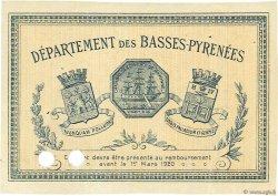 1 Franc FRANCE régionalisme et divers BAYONNE 1915 JP.021.12 SPL à NEUF