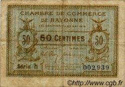 1 Franc FRANCE régionalisme et divers BAYONNE 1915 JP.021.18 TB
