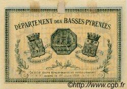1 Franc FRANCE régionalisme et divers BAYONNE 1916 JP.021.30 TTB à SUP