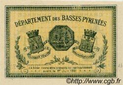 1 Franc FRANCE régionalisme et divers BAYONNE 1916 JP.021.32 SPL à NEUF
