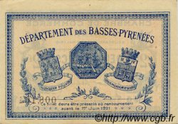2 Francs FRANCE régionalisme et divers BAYONNE 1916 JP.021.36 TTB à SUP