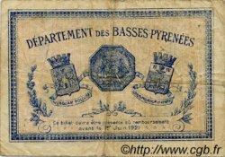 2 Francs FRANCE régionalisme et divers Bayonne 1916 JP.021.36 TB