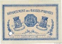 2 Francs FRANCE régionalisme et divers Bayonne 1916 JP.021.38 TTB à SUP