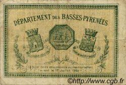 1 Franc FRANCE régionalisme et divers BAYONNE 1917 JP.021.45 TB