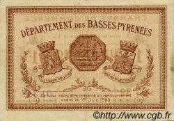 1 Franc FRANCE régionalisme et divers Bayonne 1918 JP.021.59 TTB à SUP