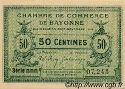 50 Centimes FRANCE régionalisme et divers Bayonne 1919 JP.021.61 SPL à NEUF