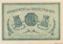 50 Centimes FRANCE régionalisme et divers BAYONNE 1919 JP.021.62 TTB à SUP
