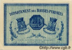 1 Franc FRANCE régionalisme et divers Bayonne 1921 JP.021.70 SPL à NEUF