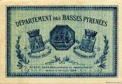 2 Francs FRANCE régionalisme et divers BAYONNE 1921 JP.021.71 TTB à SUP