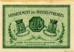 50 Centimes FRANCE régionalisme et divers Bayonne 1922 JP.021.73 TTB à SUP