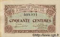 50 Centimes FRANCE régionalisme et divers BEAUVAIS 1920 JP.022.01 TB