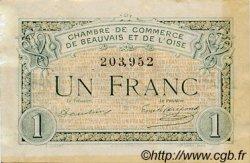 1 Franc FRANCE régionalisme et divers Beauvais 1920 JP.022.02 TB