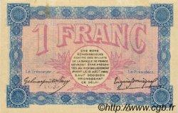 1 Franc FRANCE régionalisme et divers BELFORT 1915 JP.023.09 TTB à SUP