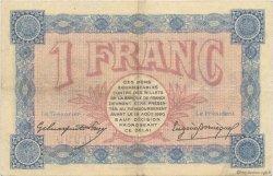 1 Franc FRANCE régionalisme et divers BELFORT 1915 JP.023.13 TTB à SUP