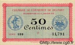 50 Centimes FRANCE régionalisme et divers Belfort 1916 JP.023.17 SPL à NEUF