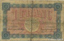 1 Franc FRANCE régionalisme et divers Belfort 1916 JP.023.21 TB