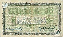 50 Centimes FRANCE régionalisme et divers Belfort 1918 JP.023.34 TB