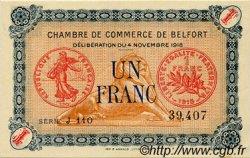 1 Franc FRANCE régionalisme et divers BELFORT 1918 JP.023.37 SPL à NEUF