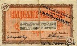 50 Centimes FRANCE régionalisme et divers BELFORT 1918 JP.023.48 TB