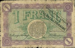1 Franc FRANCE régionalisme et divers BELFORT 1918 JP.023.50 TB