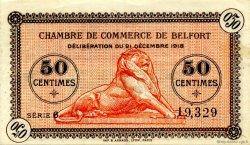 50 Centimes FRANCE régionalisme et divers Belfort 1918 JP.023.52 SPL à NEUF
