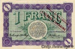 1 Franc FRANCE régionalisme et divers BELFORT 1918 JP.023.54 SPL à NEUF