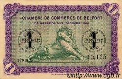 1 Franc FRANCE régionalisme et divers Belfort 1918 JP.023.54 TTB à SUP