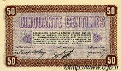 50 Centimes FRANCE régionalisme et divers BELFORT 1921 JP.023.56 SPL à NEUF