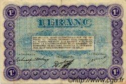 1 Franc FRANCE régionalisme et divers Belfort 1921 JP.023.60 TB