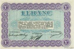 1 Franc FRANCE régionalisme et divers BELFORT 1921 JP.023.62 SPL à NEUF