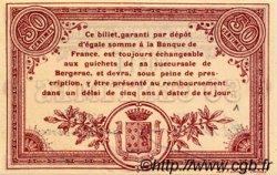 50 Centimes FRANCE régionalisme et divers Bergerac 1914 JP.024.01 SPL à NEUF