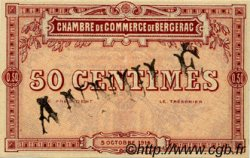 50 Centimes FRANCE régionalisme et divers BERGERAC 1914 JP.024.02 SPL à NEUF