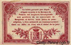 50 Centimes FRANCE régionalisme et divers BERGERAC 1914 JP.024.08 SPL à NEUF