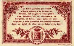 50 Centimes FRANCE régionalisme et divers Bergerac 1914 JP.024.08 TTB à SUP