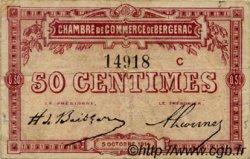 50 Centimes FRANCE régionalisme et divers Bergerac 1914 JP.024.08 TB