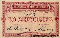 50 Centimes FRANCE régionalisme et divers BERGERAC 1914 JP.024.11 TTB à SUP