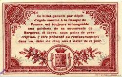 50 Centimes FRANCE régionalisme et divers Bergerac 1914 JP.024.12 SPL à NEUF