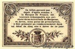 1 Franc FRANCE régionalisme et divers Bergerac 1914 JP.024.13 SPL à NEUF
