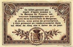 1 Franc FRANCE régionalisme et divers BERGERAC 1914 JP.024.13 TTB à SUP