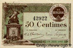 50 Centimes FRANCE régionalisme et divers BERGERAC 1917 JP.024.24 TTB à SUP