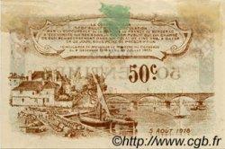 50 Centimes FRANCE régionalisme et divers BERGERAC 1918 JP.024.31 TTB à SUP