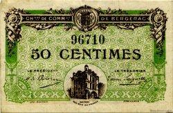 50 Centimes FRANCE régionalisme et divers Bergerac 1918 JP.024.31 TB